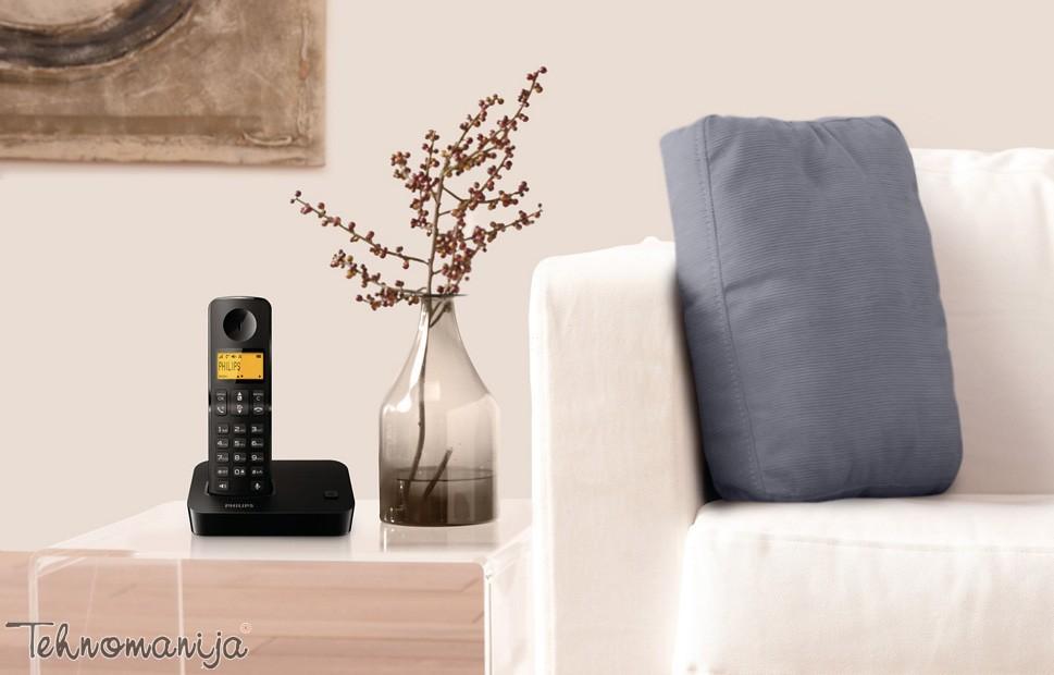 Philips bežični telefon D 2001B/53