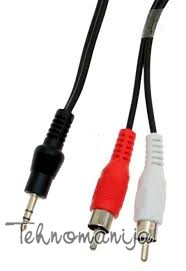 S Box audio kabl AUD 3 5MM 2XRCA 2M