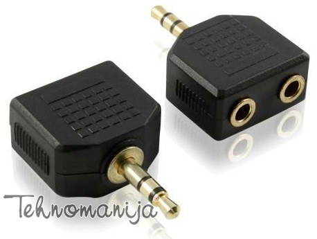 S Box audio adapter ADAP 3 5MM 2X3 5MM