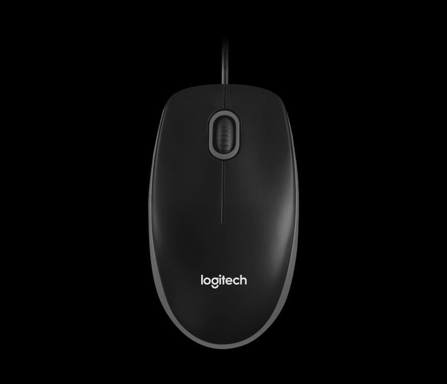 LOGITECH Žični miš B100