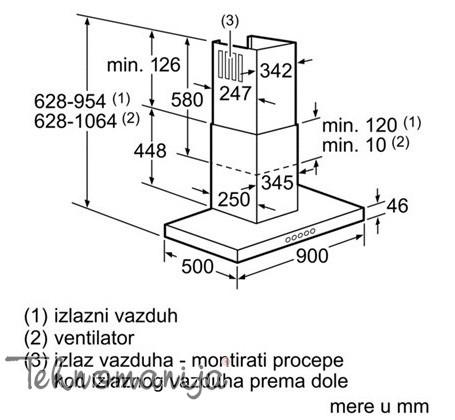 BOSCH Aspirator DWB 097A50