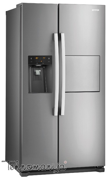 GORENJE Side by side frižider NRS9181CXB, Total No Frost