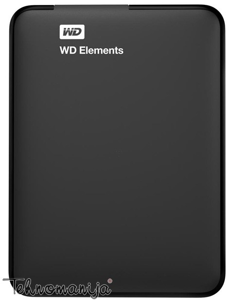 "WD EXT 2.5"" Elements Portable  1TB WDBUZG0010BBK-EESN"