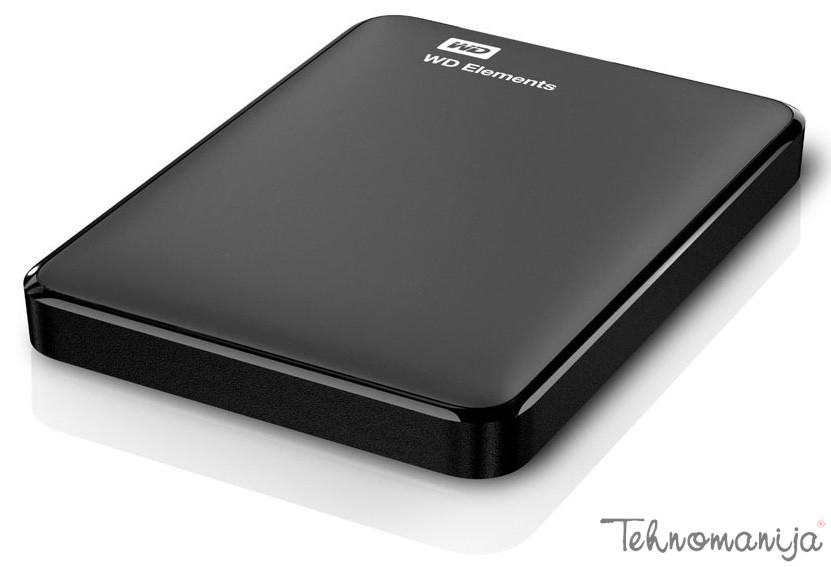 "WD EXT 2.5"" Elements Portable 2TB WDBU6Y0020BBK-EESN"