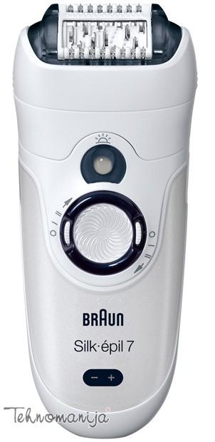 Braun epilator SE 7281 WD + trimer FG 1100
