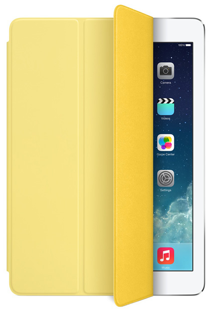 Apple Smart Cover za iPad Air/Air 2, iPad 5. i 6. generacije - Žuti