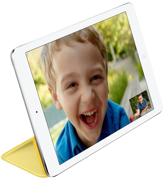 Apple Smart Cover za iPad Air/Air 2, iPad 5. i 6. generacije - Žuti