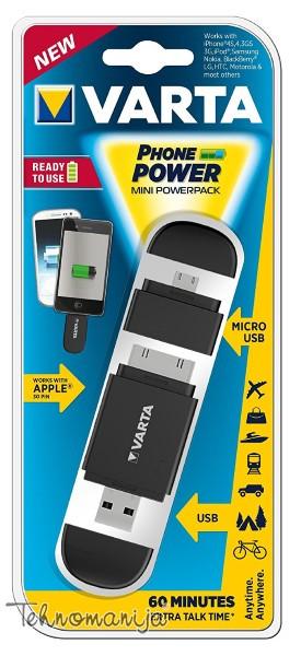 VARTA Prenosna Baterija 57916101401