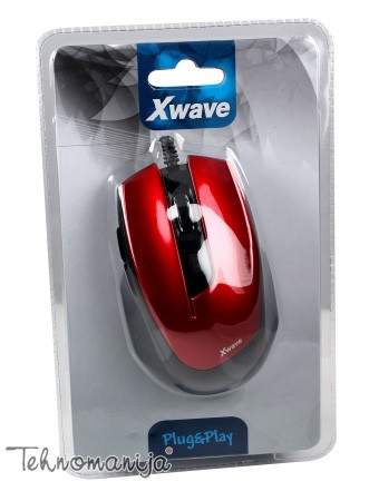X Wave optički miš LM 5 RED