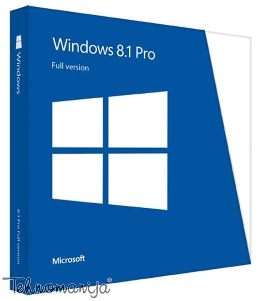 MICROSOFT Windows 8.1 Pro 64-Bit DVD - OEM FQC-06949