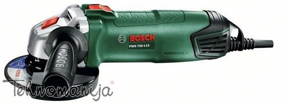 Bosch ugaona brušilica PWS 750 115