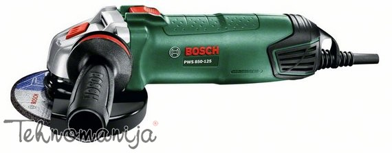 Bosch ugaona brušilica PWS 850 125