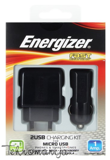 Energizer auto punjač 3B1 MICRO USB