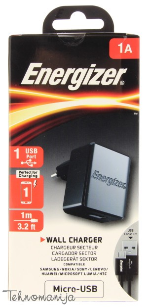 Energizer punjač 220V MICRO