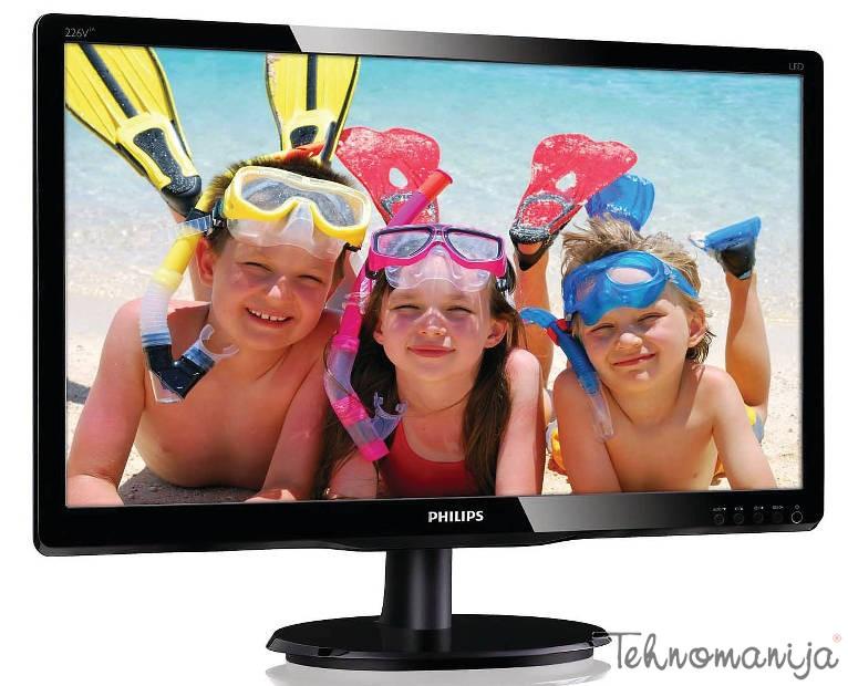 "PHILIPS Monitor 22"" 226V4LAB 00,W-LED,1920 x 1080 Full HD"
