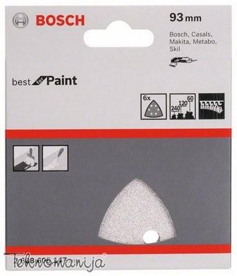 Bosch 6-delni set brusnih listova 6D SET BRUS LIST 8