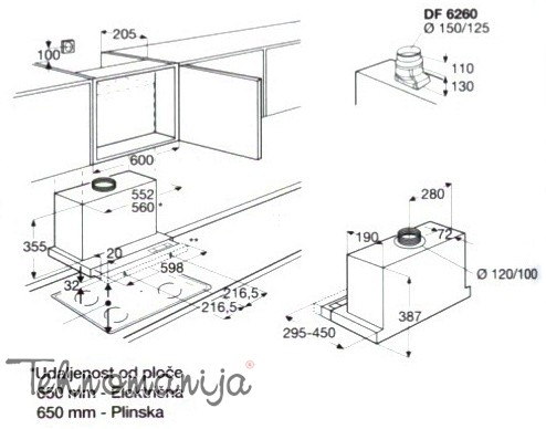 AEG Aspirator DF6260ML/1