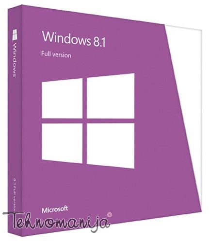 Microsoft operativni sistem Windows 81 4HR 00201
