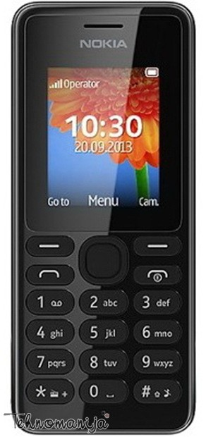 NOKIA Mobilni telefon N 108 DS BK
