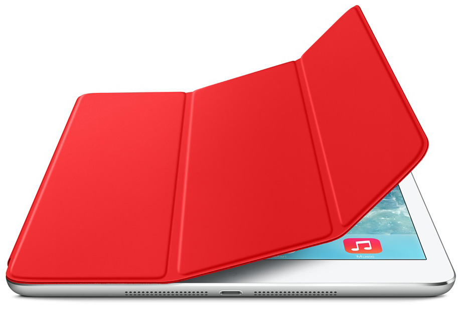 Apple Smart Cover za iPad Air - Crveni