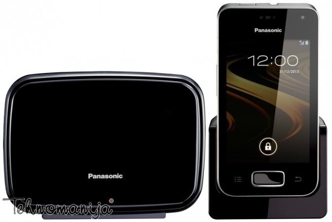 Panasonic bežični telefon KX-PRX110FXW