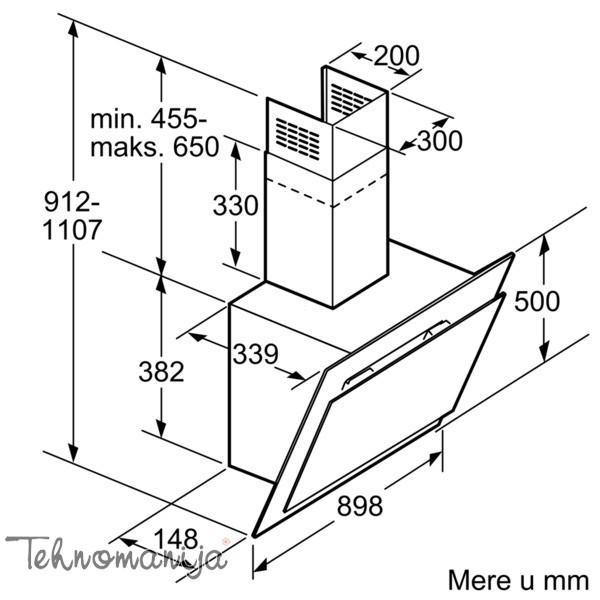 Bosch aspirator DWK 09G620