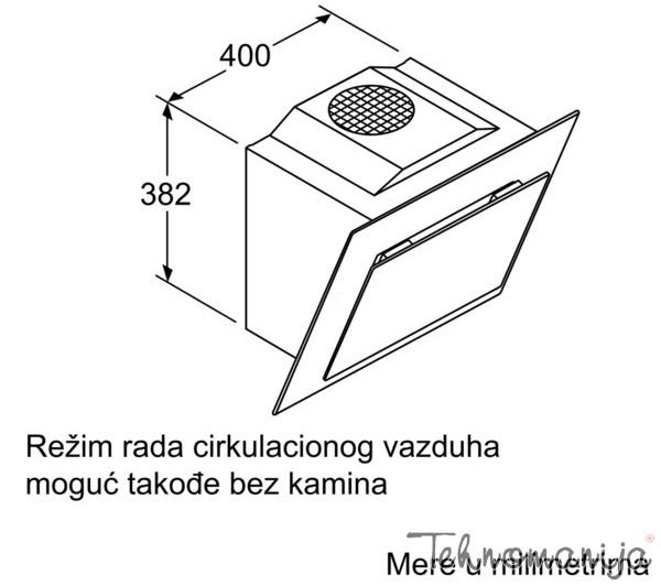 BOSCH Aspirator DWK 09G660