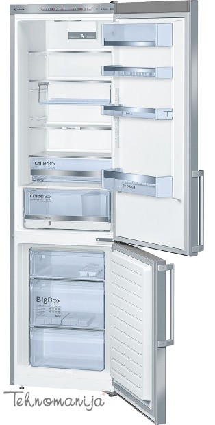 BOSCH Kombinovani frižider KGE 39BI40, Low Frost