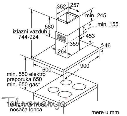 SIEMENS Aspirator LF 91BC542