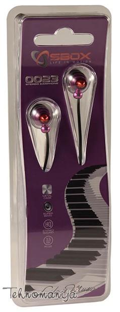 S Box slušalice EP-0023 PURPLE