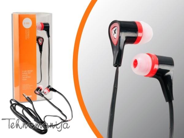 X Wave slušalice E 300 BLACK