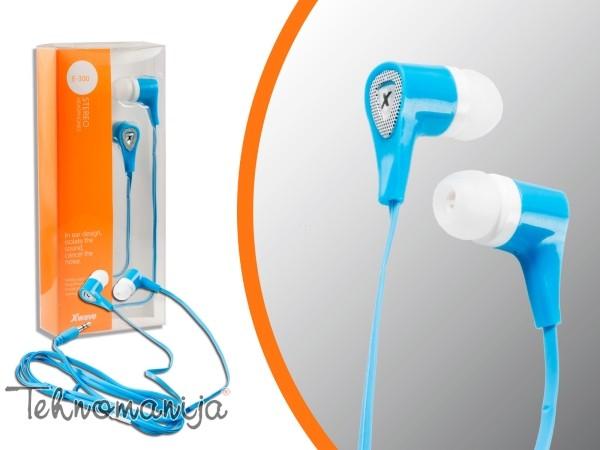 X Wave slušalice E 300 BLUE