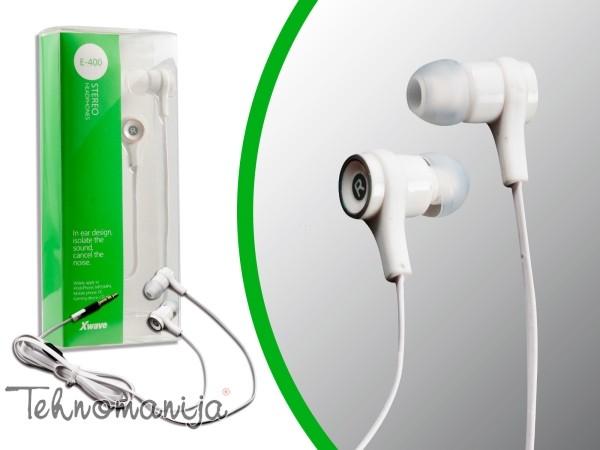 X Wave slušalice E 400 WHITE