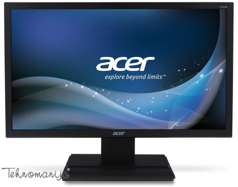 "ACER Monitor 21.5"" V226HQLBDBD, LED, 1920 x 1080 Full HD"