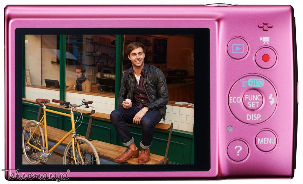 Canon fotoaparat IXUS 155 PINK