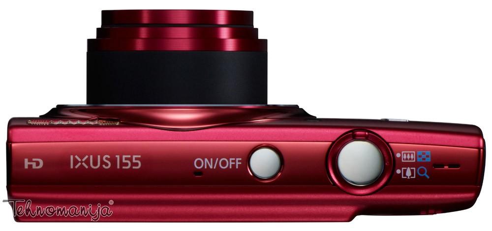 Canon fotoaparat IXUS 155 RED