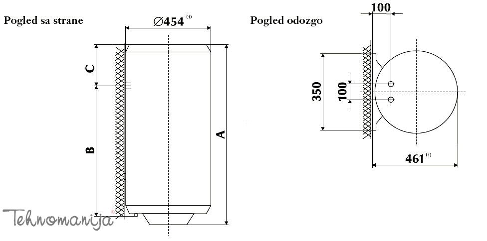 Gorenje bojler TGR 50 N
