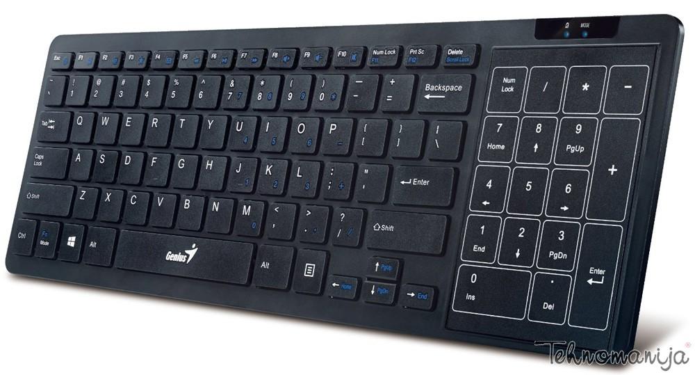 GENIUS Bežična tastatura T8020 B US