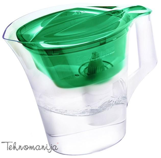 BARRIER Bokal za filtriranje vode TWIST ZELENI