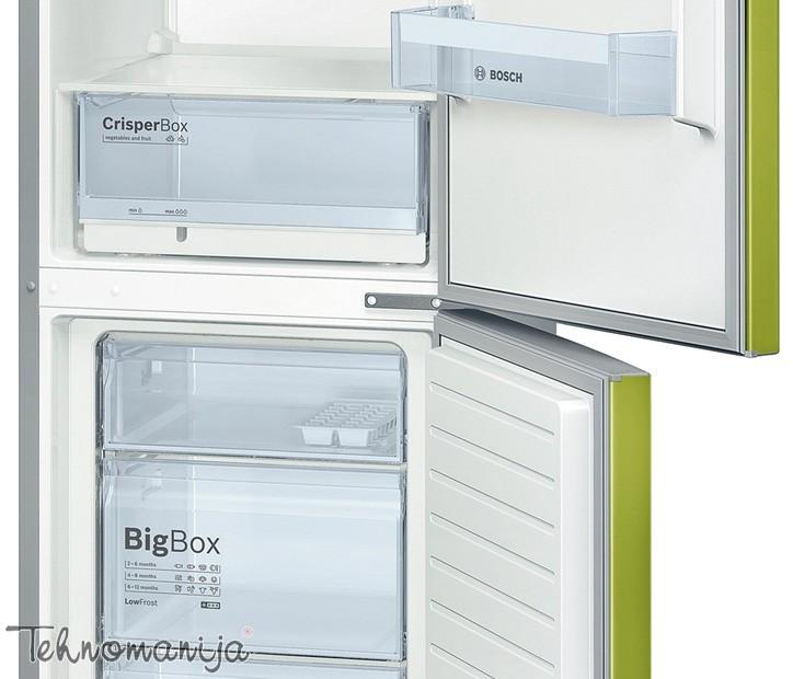 BOSCH Kombinovani frižider KGV 36VH32S, Low Frost