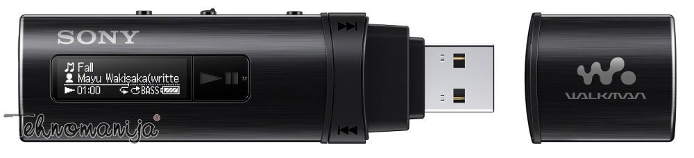 SONY Mp3 plejer NWZB 183FB CEW, 4GB