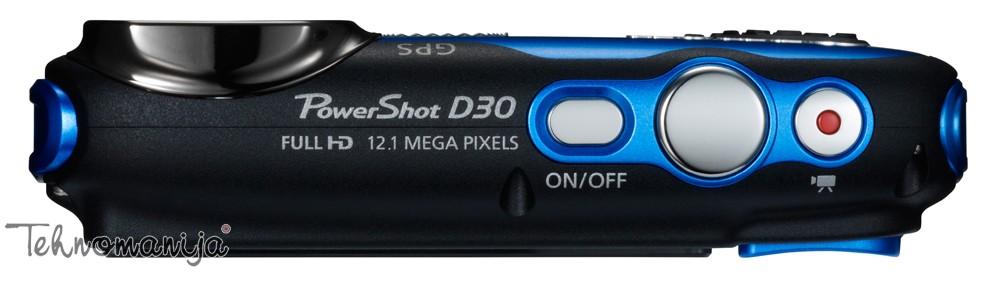 Canon fotoaparat PowerShot D30 BL