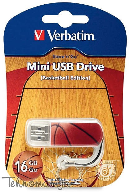Verbatim USB flash BASKET 16GB 98679