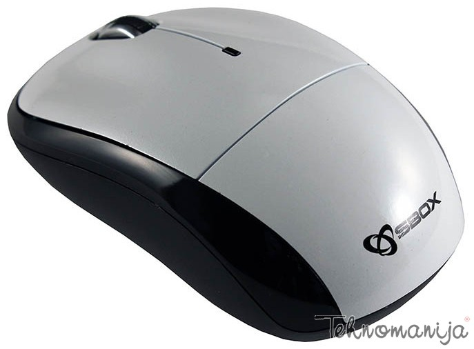 S BOX Bežični miš M 9006 WHITE