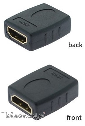 S BOX Adapter HDMI / HDMI  F/F