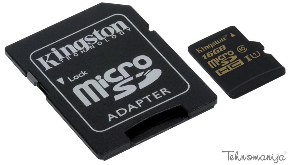 KINGSTON Memorijska kartica KFSDCA 10 16GB