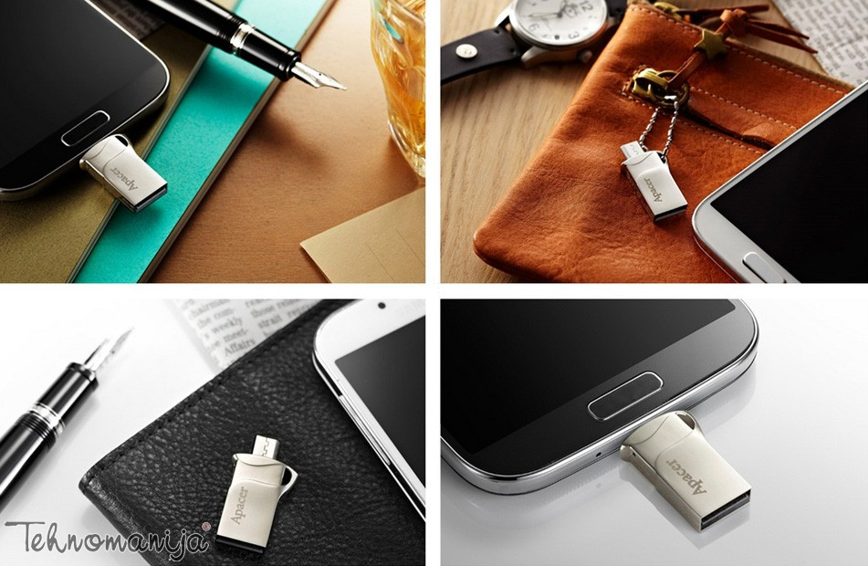 Apacer USB flash AH173 8GB SILVER