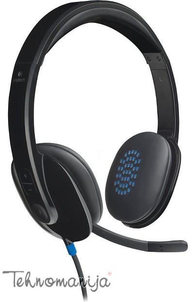 Logitech slušalice sa mikrofonom H540
