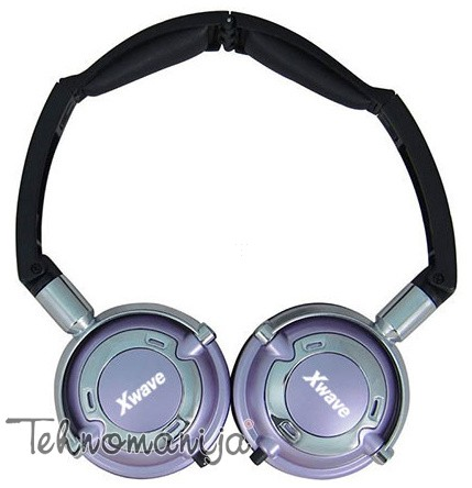 X Wave slušalice HD 260 SILVER PURPLE