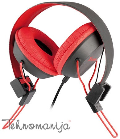 X WAWE Slušalice HD 380PC RED